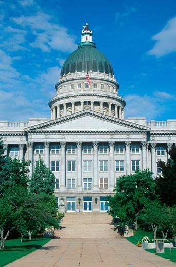 Stock Photo: 1598R-9960854 'State Capitol of Utah, Salt Lake City'