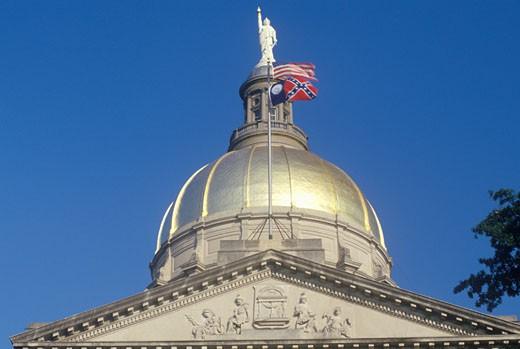 'State Capitol of Georgia, Atlanta' : Stock Photo