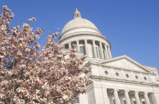 'State Capitol of Arkansas, Little Rock' : Stock Photo