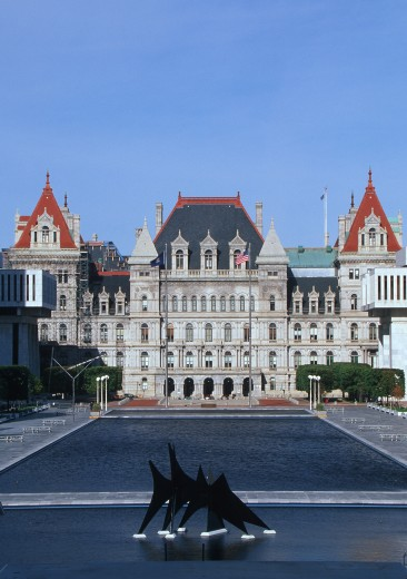 'State Capitol of New York, Albany' : Stock Photo