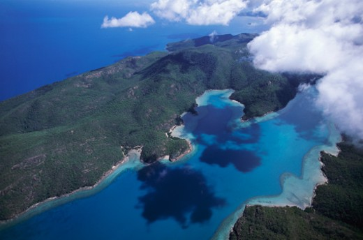 Stock Photo: 1598R-9967124 Whitsunday Island, Great Barrier Reef, Australia