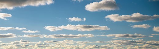 This is a blue sky and clouds in summer. : Stock Photo