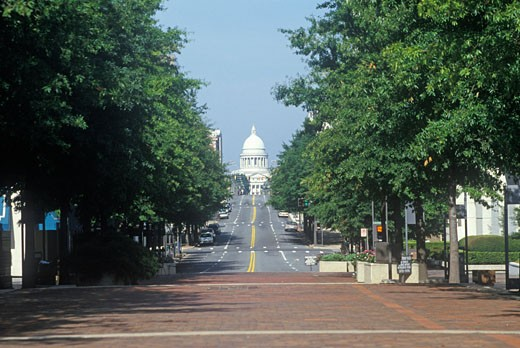 'State Capitol of Arkansas, Little Rock' : Stock Photo