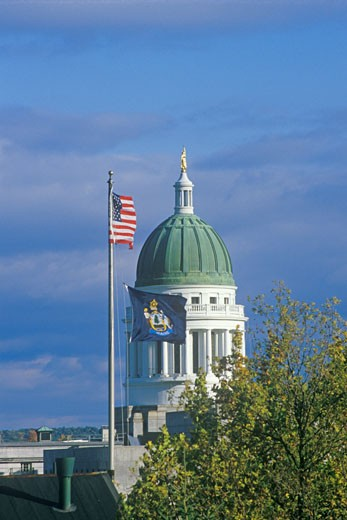 'State Capitol of Maine, Augusta' : Stock Photo