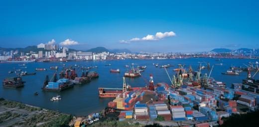Kwai Chung, Kowloon, Hong Kong, China : Stock Photo