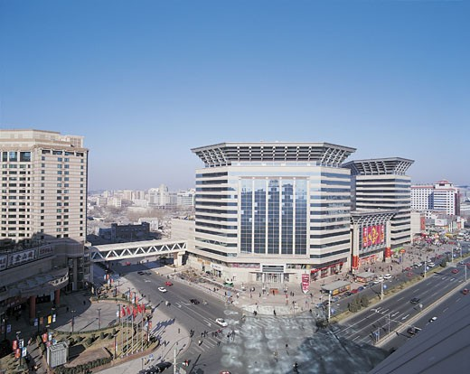 Stock Photo: 1598R-9975170 New World Shopping Mall, Beijing, China
