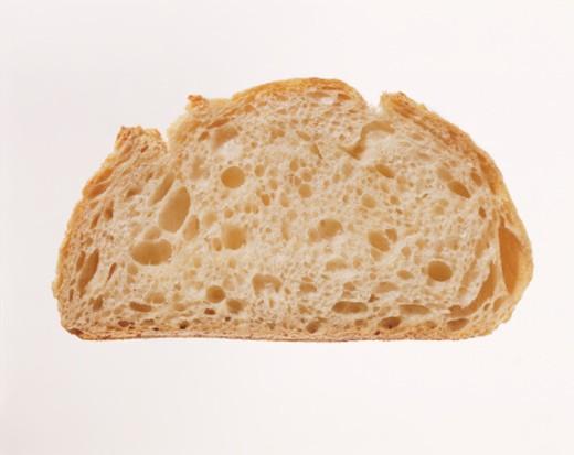 Slice of White Brad : Stock Photo