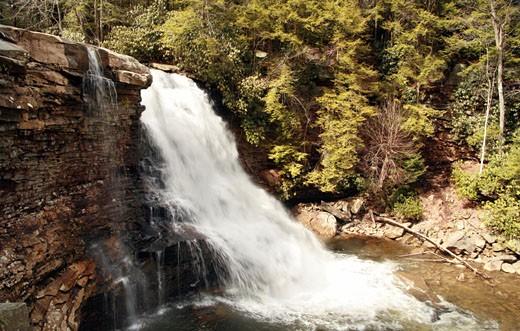 Stock Photo: 1598R-9986455 Muddy Creek Falls, Maryland.