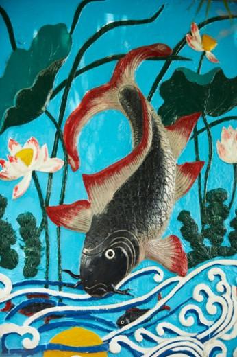 Ngoc Son Temple,Hoan Kiem Lake : Stock Photo