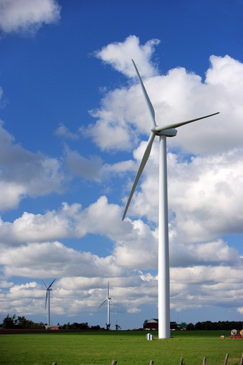 Stock Photo: 1598R-9987878 Wind Power