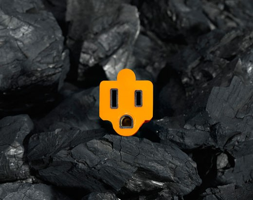 Stock Photo: 1598R-9990182 Power from coal