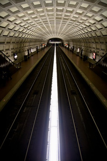 Subway station, DuPont Circle, Washinghton, DC : Stock Photo