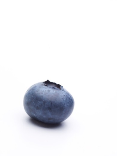 Stock Photo: 1598R-9991685 blueberry on white background