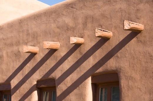 Stock Photo: 1598R-9995546 Architecture found in Santa Fe New Mexico.