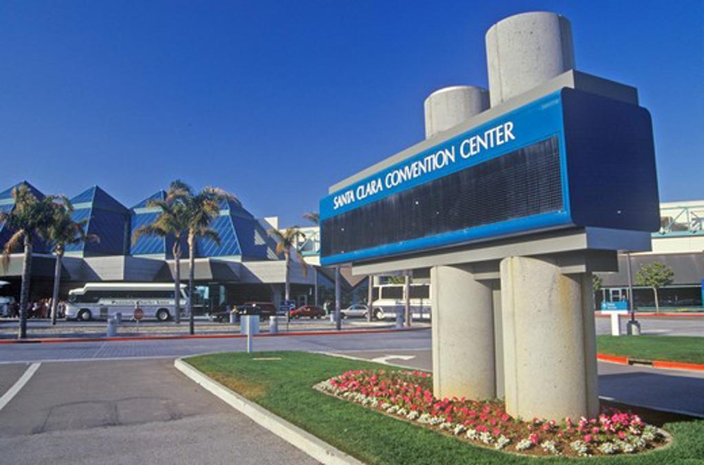 Stock Photo: 1599-10010 Santa Clara Convention Center in Santa Clara, Silicon Valley, California