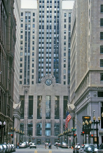 Stock Photo: 1599-10571 The Chicago Board of Trade, Chicago, Illinois