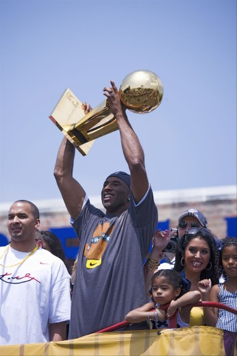Stock Photo: 1599-13118 Victory parade for 2009 NBA Champion Los Angeles Lakers, June 16, 2009
