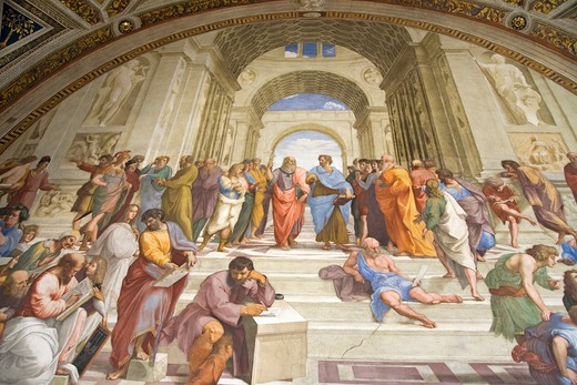 Stock Photo: 1599-13903 The Vatican Museums, Musei Vaticani, are the public art and sculpture museums in the Vatican City, which display works from the extensive collection of the Roman Catholic Church. Pope Julius II founded the museums in the 16th century, Rome, Italy, Europe