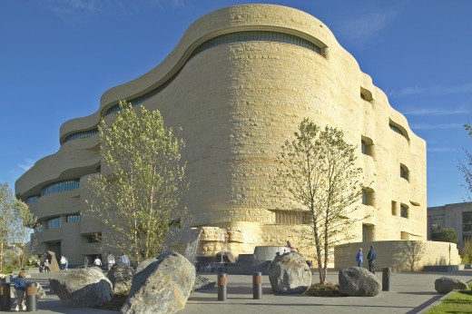 National Museum of the American Indian, Smithsonian, in Washington D.C. : Stock Photo