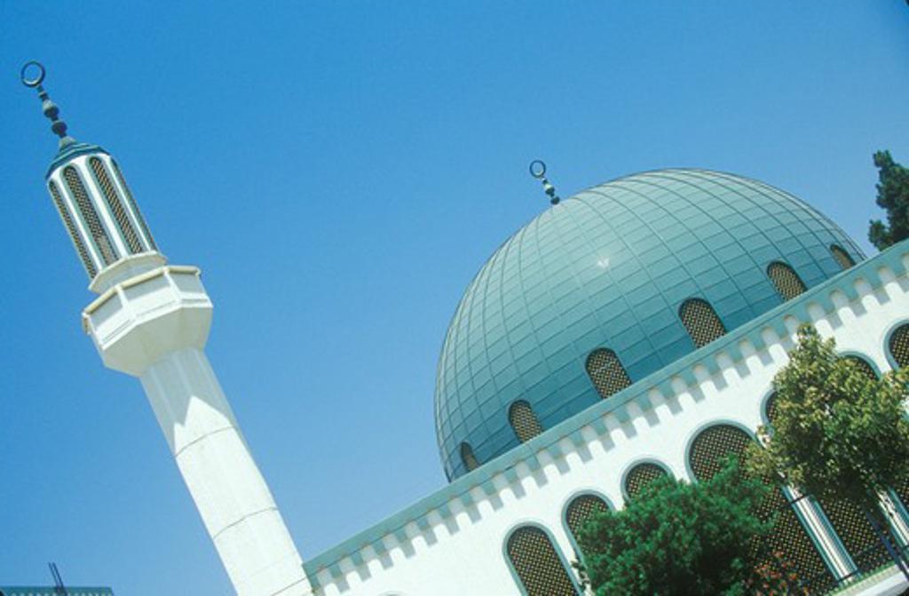 Stock Photo: 1599-7695 Masjid Omar ibn Al-Khattab Mosque in Los Angeles California