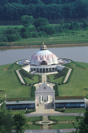 Stock Photo: 1599-7730 The Satchidananda Ashram-Yogaville and Lotus Conference Center in Buckingham, Virginia