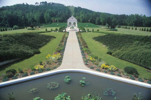 Stock Photo: 1599-7732 The Satchidananda Ashram-Yogaville and Lotus Conference Center in Buckingham, Virginia