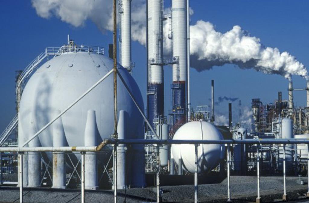 Oil Refinery, NJ : Stock Photo