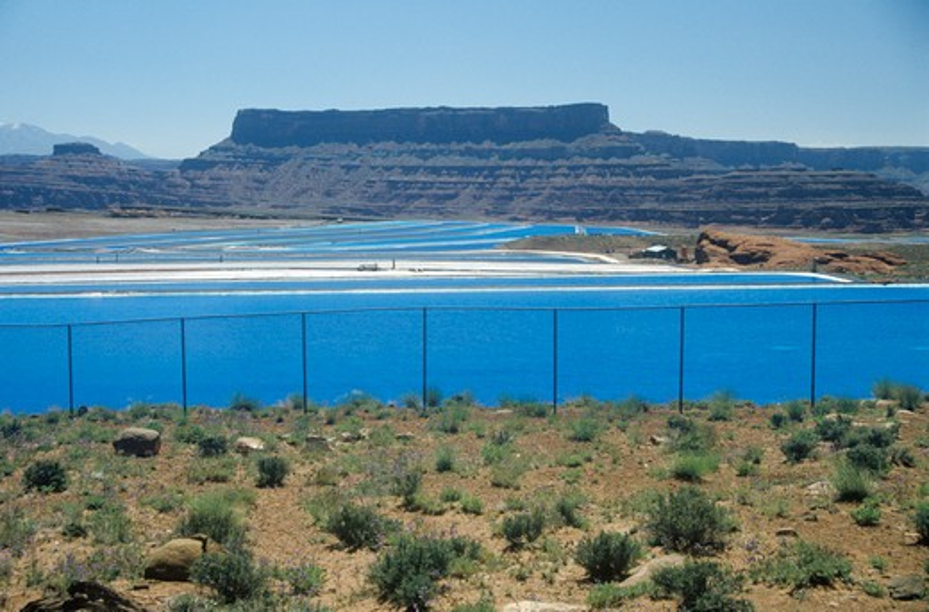 Uranium mine in Canyonland National Park in Moab, UT : Stock Photo