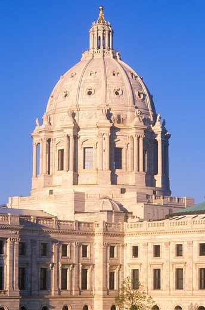 Stock Photo: 1599-9130 State Capitol of Minnesota, St. Paul