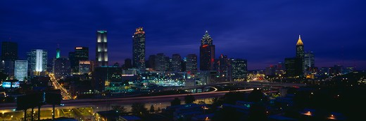 Atlanta Skyline (After Olympics), Georgia : Stock Photo