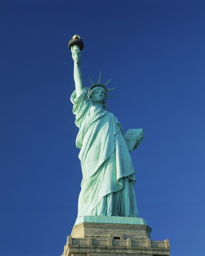Statue of Liberty, full length : Stock Photo