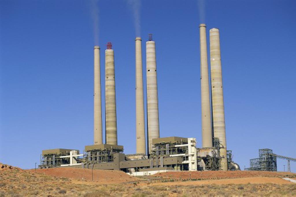 Generating station : Stock Photo