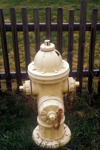 Stock Photo: 1599R-17644 Fire hydrant in Paradise, MT