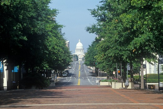 Stock Photo: 1599R-18641 State Capitol of Arkansas, Little Rock