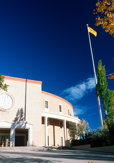 Stock Photo: 1599R-18975 State Capitol of New Mexico, Santa Fe
