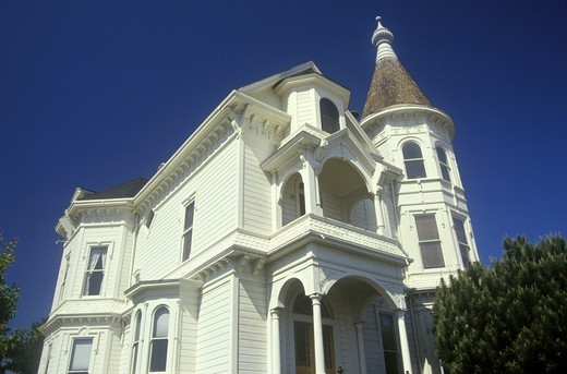 Victorian house, Guadalupe, CA : Stock Photo