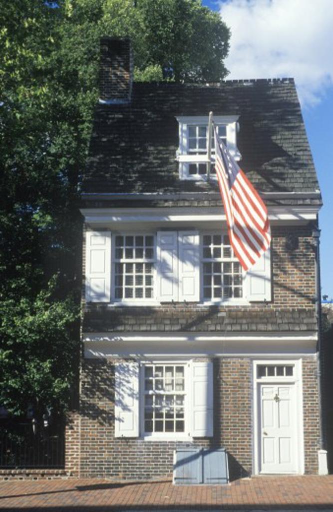 Betsy Ross House, Philadelphia, Pennsylvania : Stock Photo