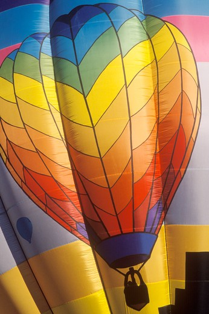 Stock Photo: 1599R-21929 The Albuquerque International Balloon Fiesta in New Mexico