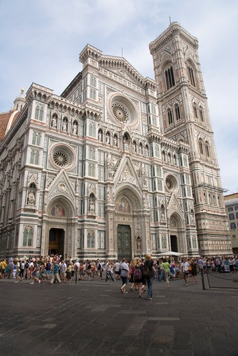 Stock Photo: 1599R-29497 Exterior view of The Duomo, Florence, Italy, Europe