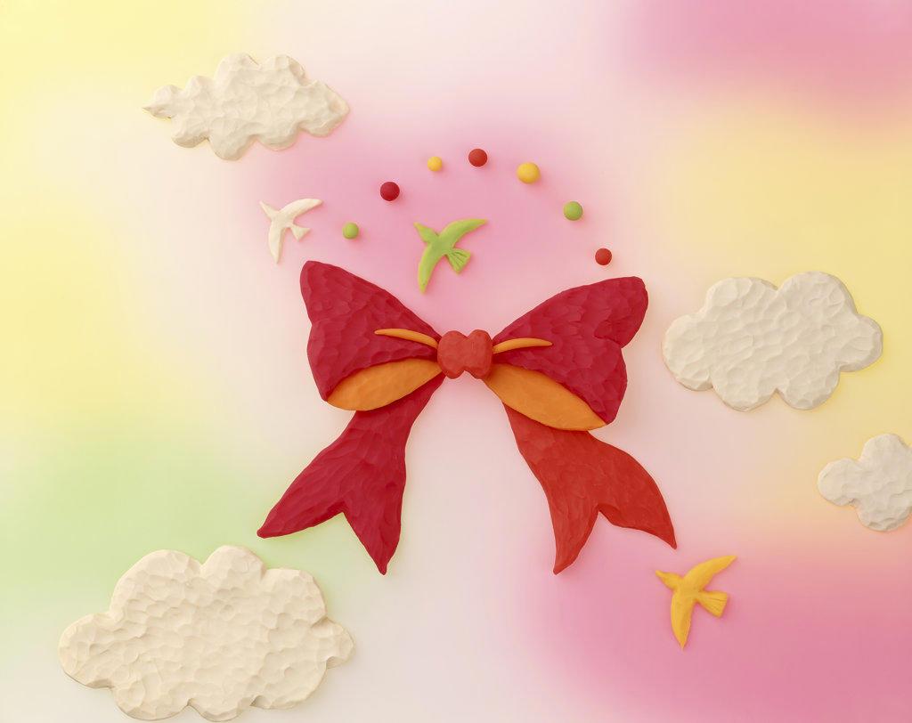Ribbon image : Stock Photo