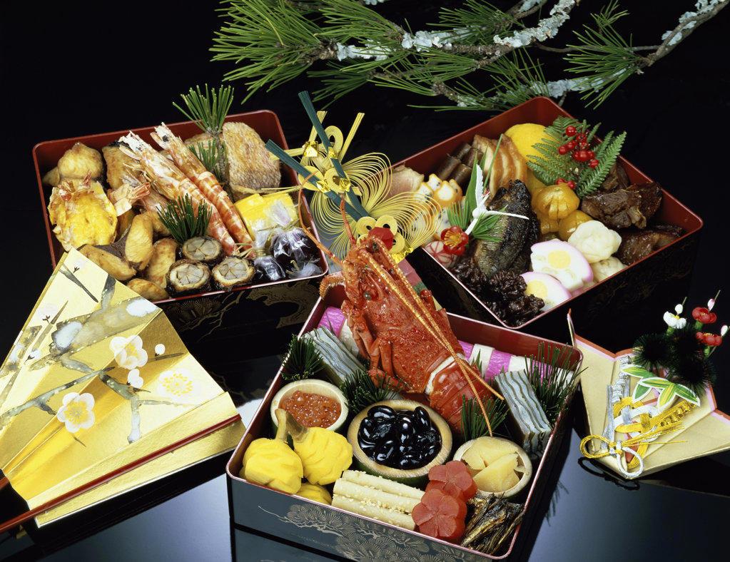 Stock Photo: 160-191 still life of food