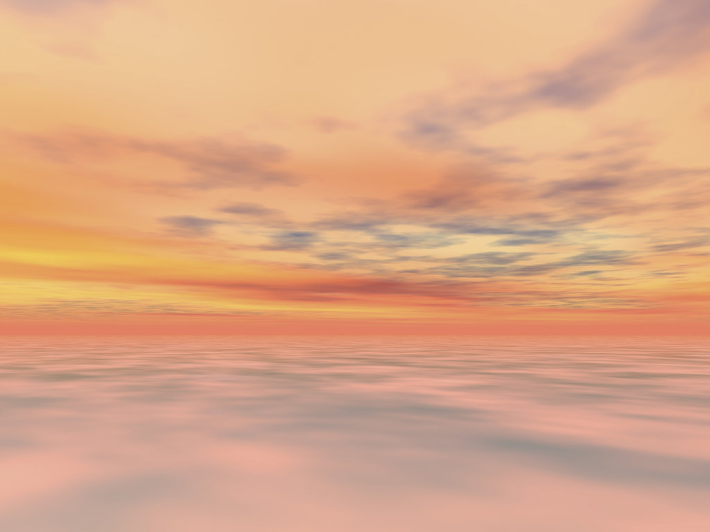 Stock Photo: 160-1934 Sunset sky, digitally generated image