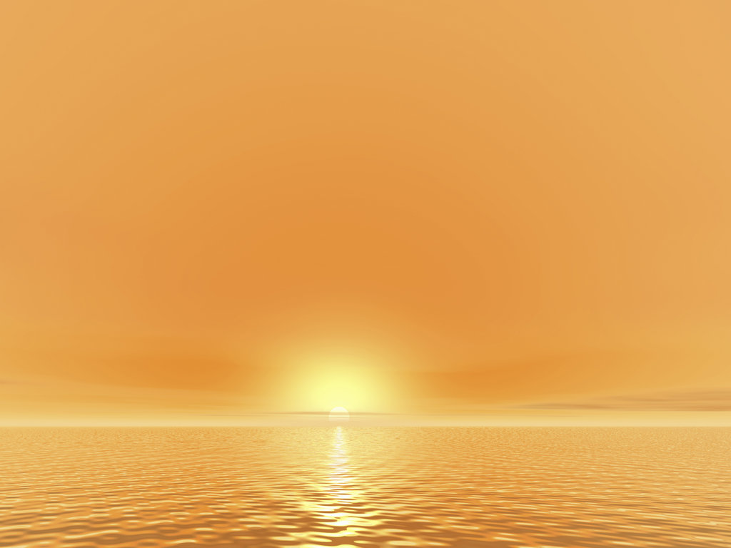 Stock Photo: 160-1941 Seascape at sunset, digitally generated image