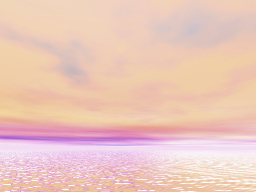 Evening sky, digitally generated image : Stock Photo
