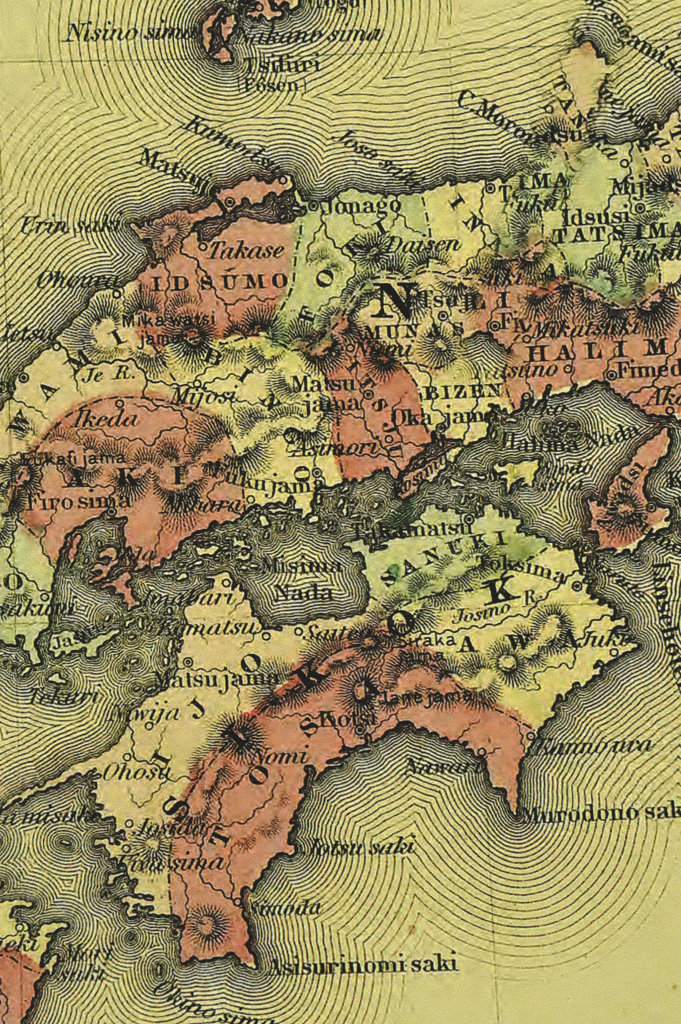Stock Photo: 160-2628 antique map