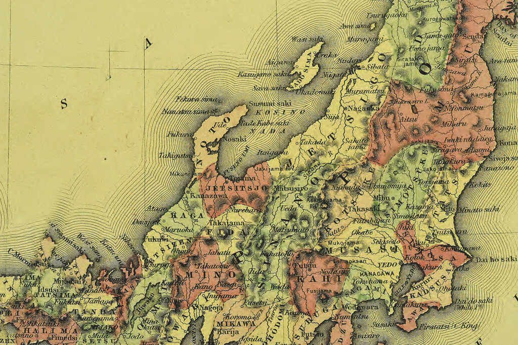 Stock Photo: 160-2645 antique map
