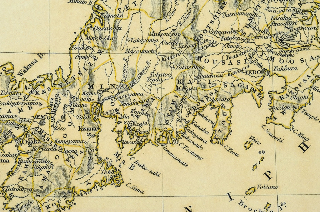 antique map : Stock Photo
