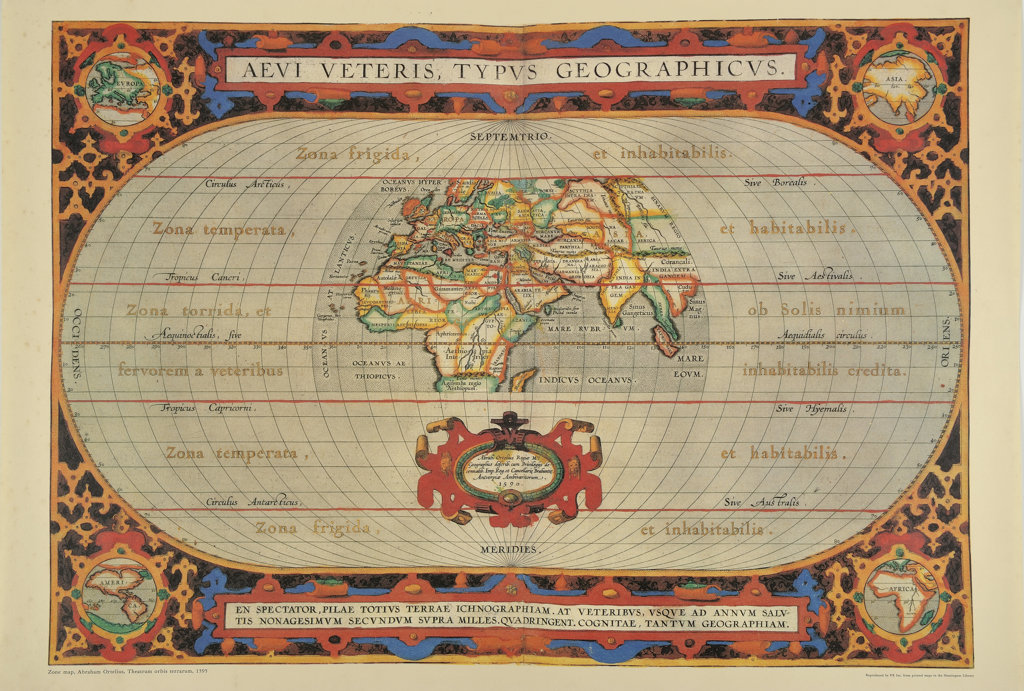 Stock Photo: 160-2661 antique map