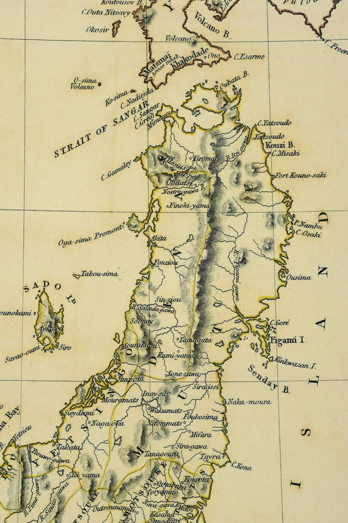 Stock Photo: 160-2664 antique map
