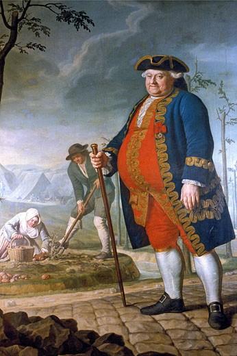 "Stock Photo: 1606-10095 France, Picardie, Somme, Amiens, museum, ""Antoine Parmentier"" picture by Dominique Doncre"